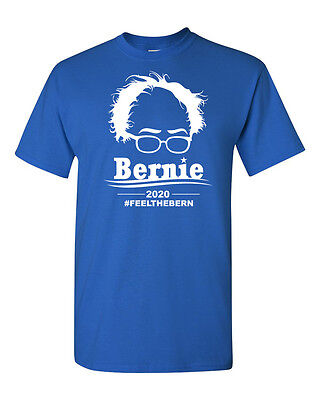 Bernie Sanders 2020 President Feel The Burn Mens Tee Shirt 1604