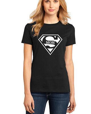 Super Mom Womens T-Shirt Supergirl Superman Superwoman Movie Girl - Supergirl Shirts