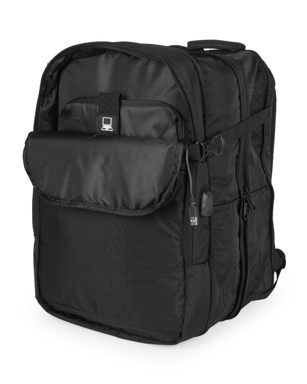 Duchamp London Expandable Travel Backpack Suitcase Luggage T