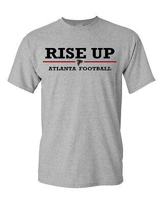 Atlanta Falcons Rise Up T Shirt  Sizes S To 5Xl Available  Football Jersey Atl