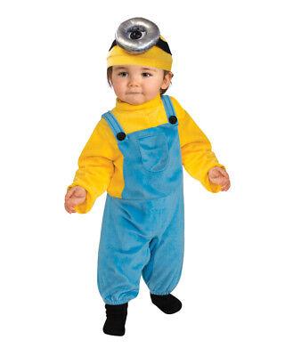 Child's Despicable Me Minions Movie Minion Stuart Costume Toddler 3T-4T