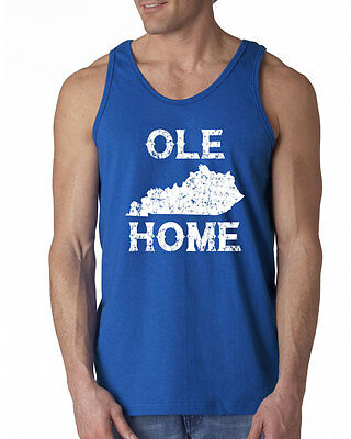 334 Ole Kentucky Home Tank Top ky bluegrass wildcats basketball vintage new ()
