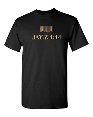 Jay Z 4 44 Album Custom Mens Gildan T Shirt Brand New Black