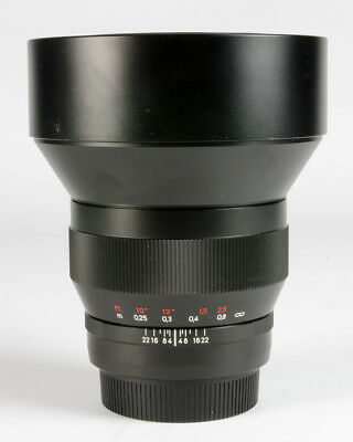 ZEISS 15mm f2.8 Distagon T* ZE Lens for EOS *7709*