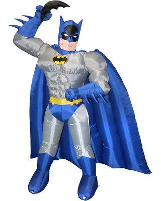 Huge Adam West Batman 7' Inflatable Air Blown DC Comics Licensed Yard Decoration