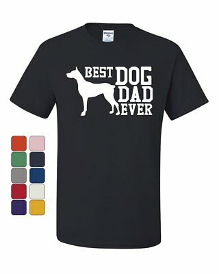 Best Dog Dad Ever T-Shirt Father's Day Gift Pet Dog Lovers Tee