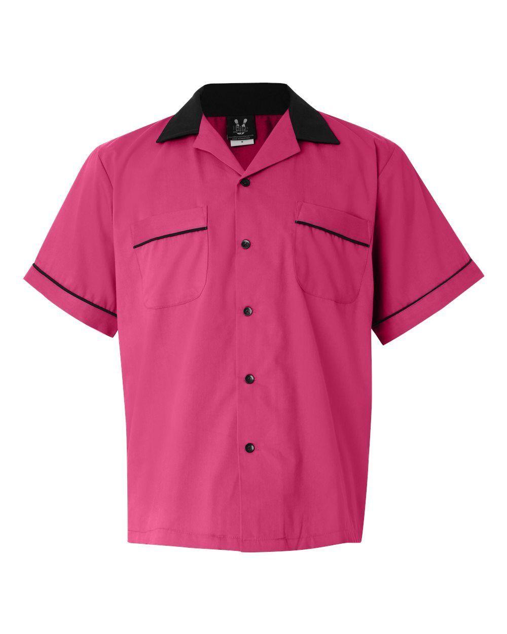 Hilton gm legend retro bowling shirt mens womens size s for Womens golf shirts xxl