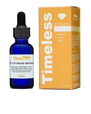 Timeless Skin Care 20  Vitamin C   E Ferulic Acid Serum   Full Size  1Oz 30Ml