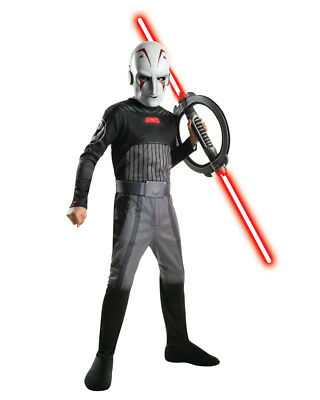 Child's Star Wars Rebels Sith Inquisitor Stormtrooper Force Jumpsuit - Stormtrooper Costume Children