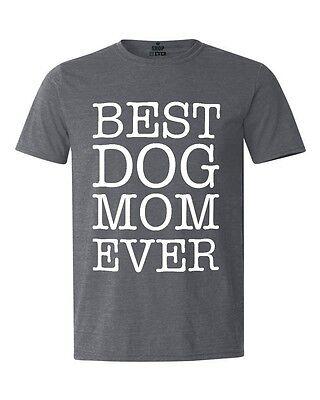Best Dog Mom Ever T-shirt Dog Lover Fur Mom Crazy Dog Lady Rescue Mom