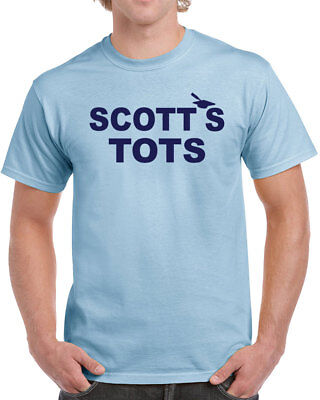674 Scotts Tots Mens T-shirt funny tv show michael costume office party new (Tshirt Costume)