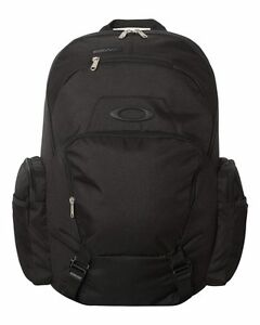 Brand-New-Authentic-Oakley-Blade-Backpack-BLACK-RED-LINE-FREE-US-SHIPPING