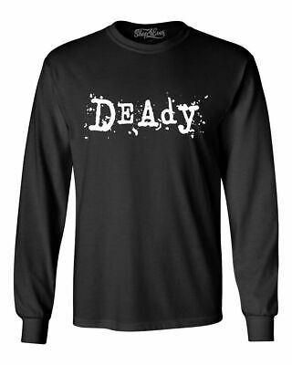 Halloween Long Sleeve T Shirts (Deady Long Sleeve Funny Matching Family Halloween Dad Party)