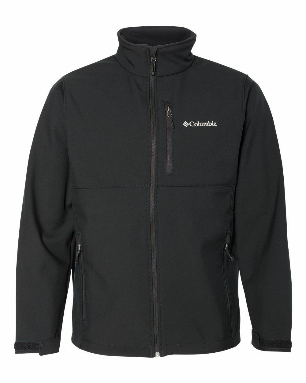 NEW COLUMBIA MEN ASCENDER SOFTSHELL II JACKET BLACK