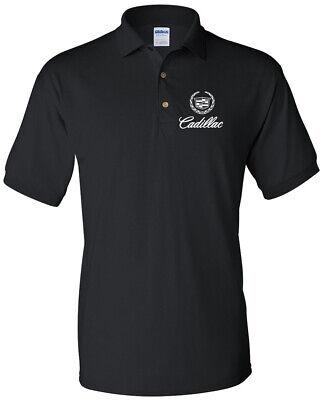 Cadillac men's T-Shirt General Motors Men's Cadillac Logo Polo Shirt