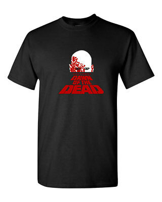 Dawn Of The Dead Halloween Costume Mens T-Shirt Tee S-3XL New-Black - Dawn Of The Dead Halloween Costume