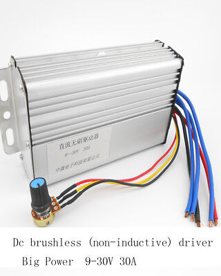 Dc Brushless Dc Controller Drives No Sense Of 9v-30v 30a Dc Motor Driver
