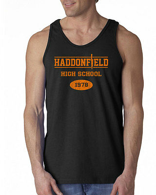 009 Haddonfield High School Tank Top halloween costume cool scary movie new