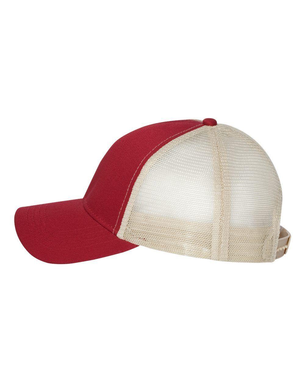80850f46 Click to Enlarge. DESCRIpTION. Econscious Re2 Trucker Style Baseball Cap,  Organic Cotton Hat