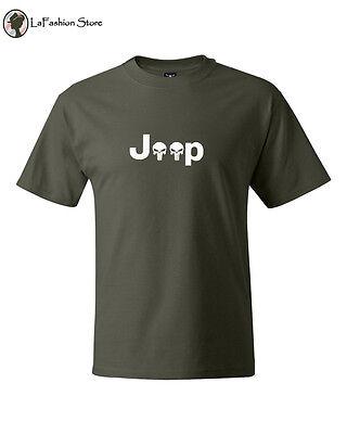 Jeep Punisher Vintage 1920s Retro Cars Logo S-5XL](1920s Mens Clothes)