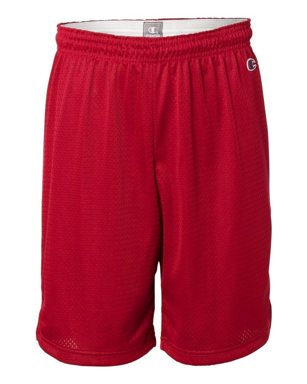 """Champion Mens Shorts Poly Mesh 9/"""" inseam Basketball Gym Workout S-3XL 8731 NEW"""