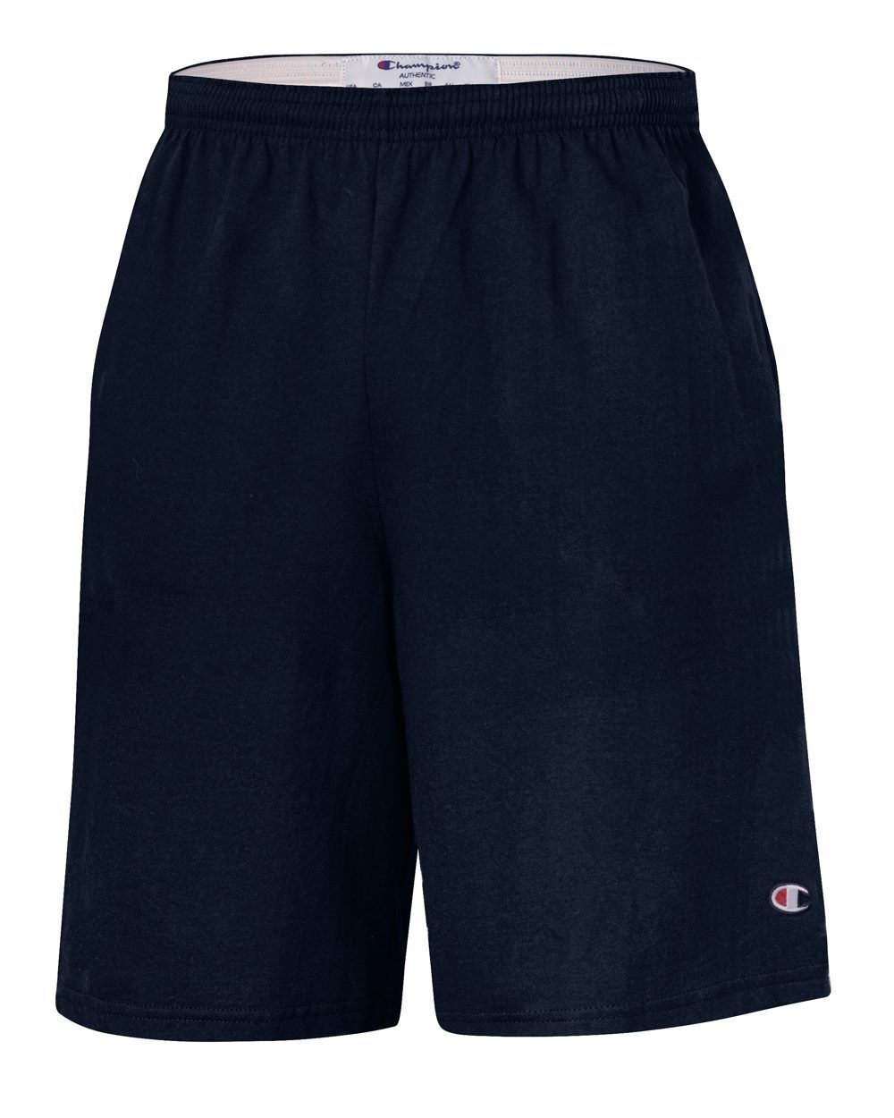 """Champion 9"""" Inseam Cotton Jersey Shorts with Pockets - 8180"""