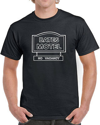 282 Bates Motel mens T-shirt scary movie halloween costume horror tv show retro](Tv Show Halloween Costume)