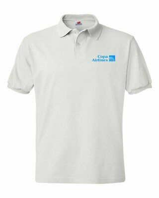 Copa Airlines  Logo Polo Shirts S 5Xl Sizes