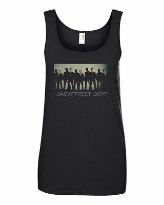 Backstreet Boys Suit Concert Women's Light Weight Tank Top T-Shirt S-2XL  Boy Womens Light T-shirt