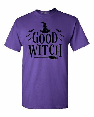 Best Halloween Custom (Good Witch Blk T-shirt Funny Matching Best Friends Halloween)