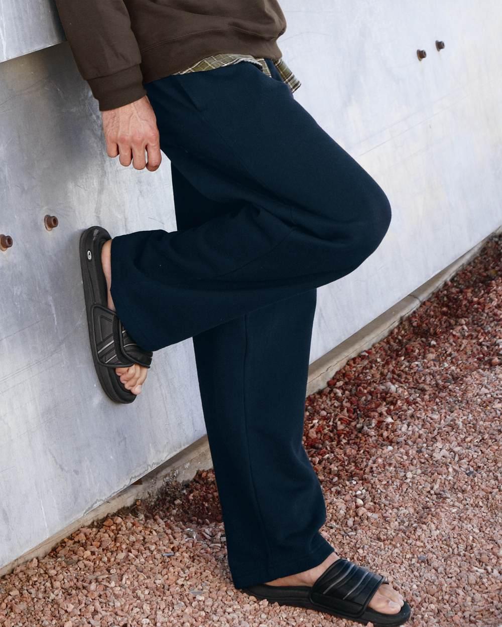 9a578f956535c1 Fruit of The Loom - Mens OPEN BOTTOM POCKET Sweatpants, Sweats Size S-XL,  2XL