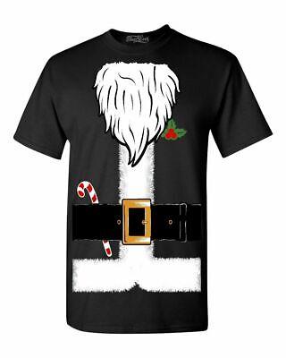 Funny Santa Costumes (Santa Costume Candycane T-shirt Funny Ugly Christmas)