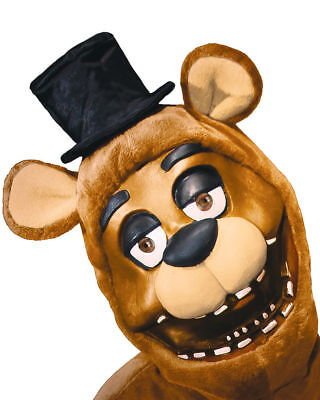 Five Nights At Freddy's 3/4 Mask Adult Fazbear Bear FNAF Horror Game Cosplay - Halloween Horror Nights App