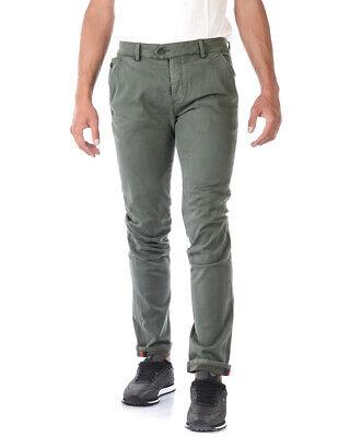 Daniele Alessandrini Jeans Cotton Man Green PJ5662L1003735 33 Sz. 30 PUT OFFER