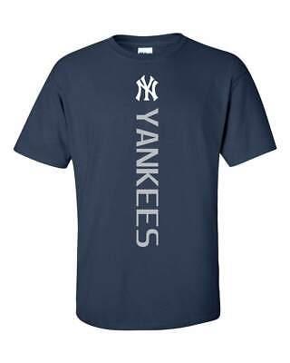 New York NY Yankees MLB Vertical T-Shirt - S-5XL FREE (New York New York New York New York)