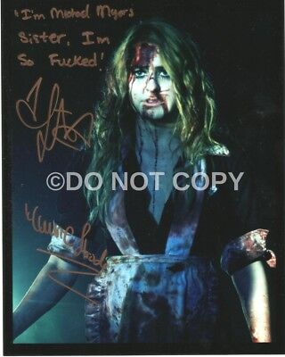 Scout Taylor Compton Rare Signed Autographed Reprint Halloween 8x10 - Halloween Quotes Movie