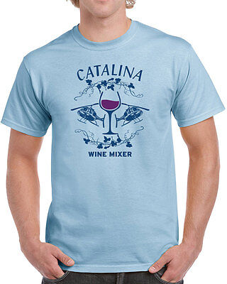 Catalina Wine Mixer (186 Catalina Wine Mixer mens T-shirt funny helicopter party brothers step movie)