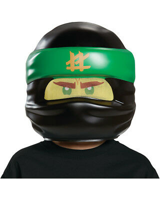 Child's LEGO® Ninjago Movie Lloyd Green Ninja Mask Costume Accessory