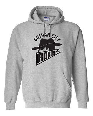 Gotham City Rogues Football Team Batman Dark Knight Rises Funny Men's HOODIE](Dark Knight Hoodie)