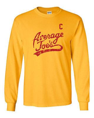 079 Average Joes Long Sleeve shirt costume dodgeball funny uniform movie vintage