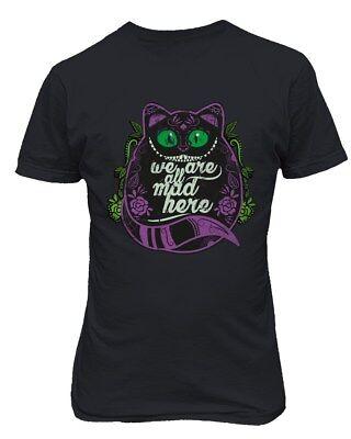 Cheshire Cat Shirt Wonderland Halloween Funny Men's T-Shirt (Cheshire Cat Halloween Man)