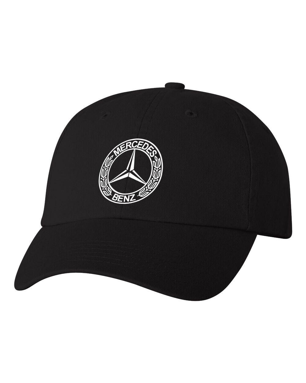 Mercedes Benz Custom Unstructured Dad Hat Adjustable Cap Choose Color New - $9.99