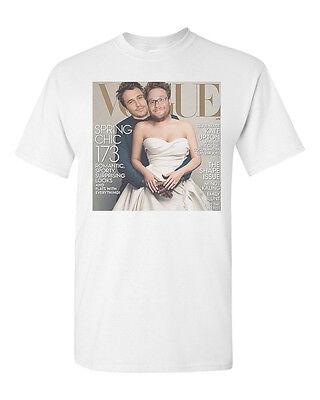Seth Rogen James Franco Kanye Kim Funny Parody Spoof Gift Vogue Cover T Shirt