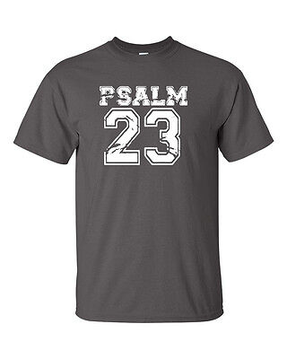 Psalm 23 Christian Religious Praying Conservative Christ Mens Tee Shirt 460