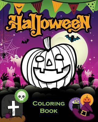 Halloween Books For Kids (Halloween Coloring Book for Kids by Abc Kids Coloring Books (English) Paperback)