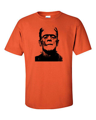 FRANKENSTIEN Monster Boris Karloff Halloween Party Men's Tee Shirt 237 - Boris Halloween