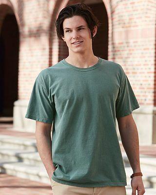 Garment Dye T-shirt (12 Comfort Colors Garment Dye T-Shirt Wholesale Bulk Lot ok to mix S-XL & Colors)