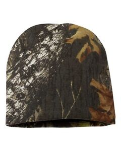 Outdoor-Cap-Realtree-MOSSY-OAK-Break-Up-CAMO-Knit-8-Beanie-CAMOUFLAGE-CMK405
