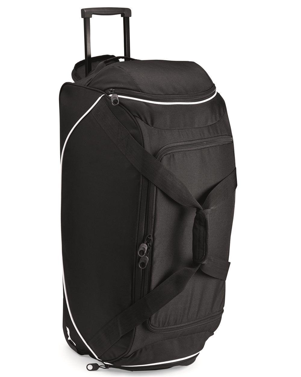 """28"""" Puma Luggage Wheeled Rolling Duffel Gear Bag Tote Sports"""