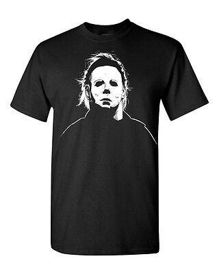 Funny Halloween Tricks (Michael Myers Mask Halloween Trick or Treat Funny Men's Tee Shirt)